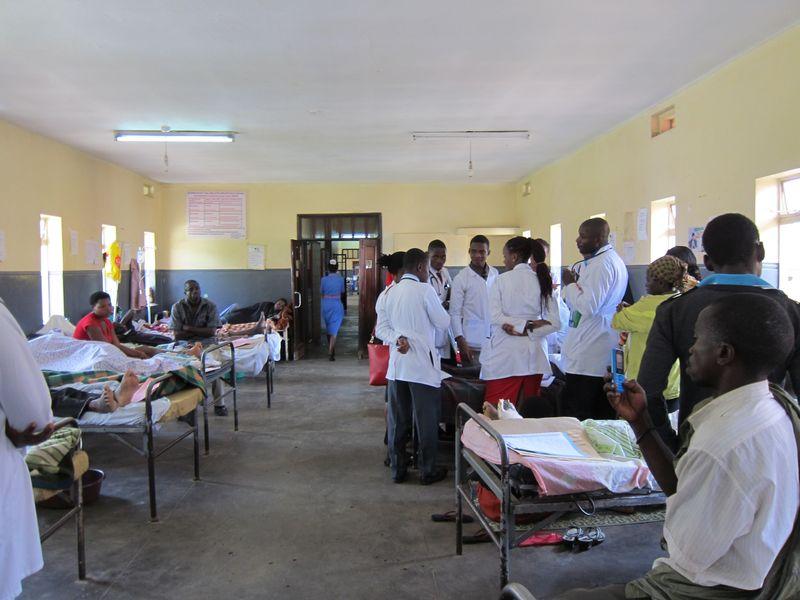 Die Krankenstationen